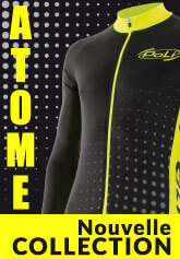 Collection de cyclisme, running, triathlon Poli Atome