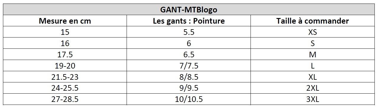 Poli - Accessoires - Gants MTBlogo