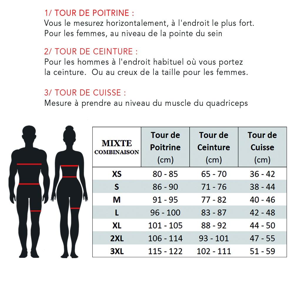 Poli - Cyclisme Boutique COMBINAISON mixte